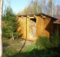 Как построить сарай с односкатной крышей своими руками?