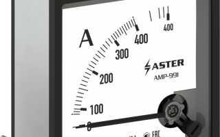 Электрические измерения, класс точности, погрешность приборов измерения.