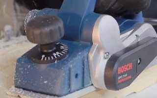 Как правильно выставить ножи на электрорубанке?