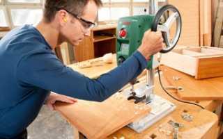 Как сделать самодельный сверлильный станок из рулевой рейки?