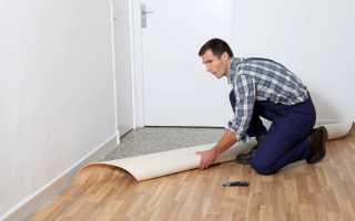 Клей для коммерческого линолеума на бетонный пол
