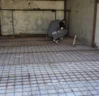 Ремонт полов в гараже. Основные причины деформации бетонного основания