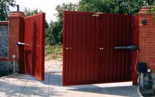 Как правильно выбрать петли для распашных ворот?