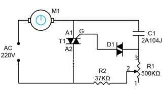 Способы регулировки оборотов вращения асинхронных двигателей