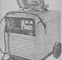 Сварка плавящимся электродом в среде защитного газа. Оборудование