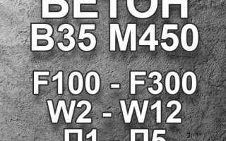 Бетон м450 — состав и сферы применения материала