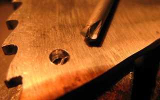 Как без сверления сделать отверстие в закаленной стали
