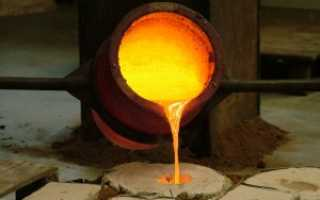 Какая температура плавления алюминия по цельсию