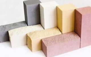Характеристики теплопроводности разных видов кирпича