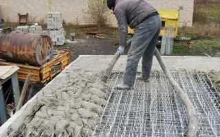 Уход за бетоном после заливки: виды работ