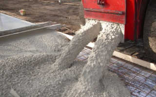 Стандартная технология изготовления (приготовление) бетона.