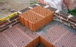 Какие керамические блоки используются для перегородок