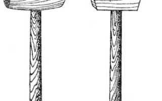 Самодельная копеечная киянка из того что под рукой