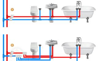Разводка водопровода в квартире: схемы, особенности, советы