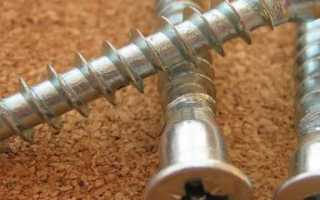 Как правильно выбрать саморезы для мебельных петель?