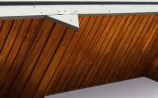 Технология подшивки свесов крыши своими руками