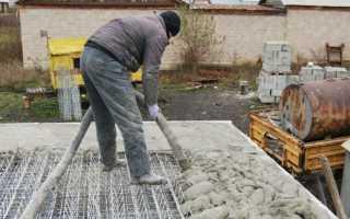 Сколько времени сохнет цемент в помещении и на улице