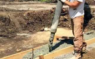 Инструкция по расчету и строительству бетонного фундамента разных видов