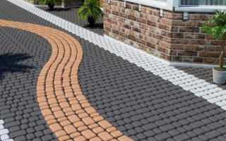 Как приготовить раствор для тротуарной плитки дома
