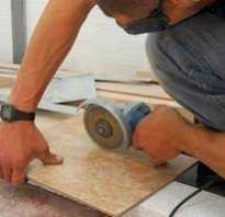 Резка керамической плитки болгаркой и как правильно выполнять