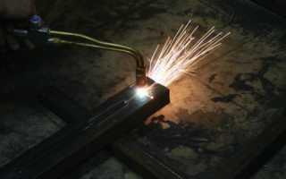 Газовая (кислородная) резка металла