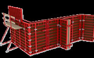 Аренда, продажа и производство опалубки