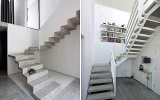 Железобетонные лестницы: технология строительства