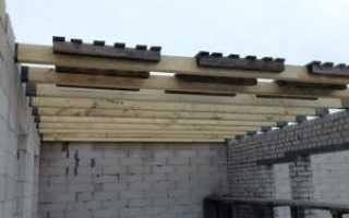 Особенности устройства перекрытия по деревянным балкам