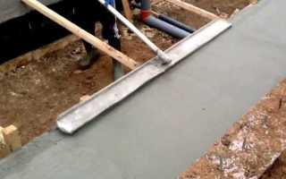 Как сделать гладилку для бетона своими руками?