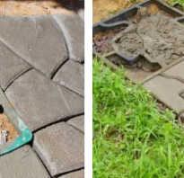 Самостоятельное изготовление опалубки для строительства садовых дорожек