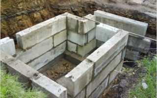 Строительство бетонного погреба своими руками