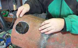 Как вырезать круглое отверстие в металле: инструкция