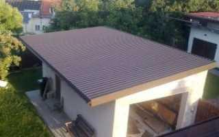 Как залить крышу гаража различными материалами