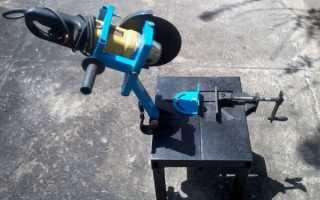 Как правильно изготовить электрический плиткорез из болгарки