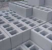 Пустотелые бетонные блоки — разновидности, характеристики, применение