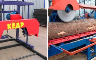 Мини-пилорама: разновидности моделей ручной конструкции