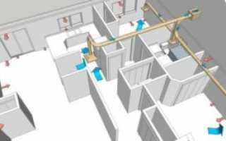 Вентиляция в доме из газобетона: устройство, требования и нормы