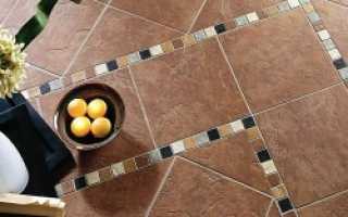 Как самому положить плитку на деревянный пол?