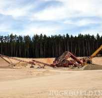 Речной песок для бетона, а карьерный лучше для кладки