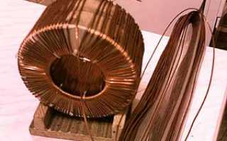 Станок для намотки тороидальных трансформаторов своими руками