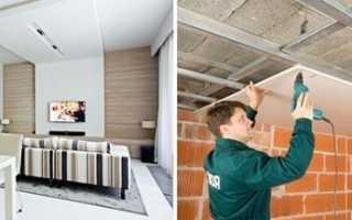 Какие потолки лучше сделать в частном доме