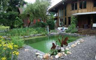 Красивый бассейн своими руками на даче около дома