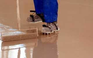 Как правильно залить наливной пол надеревянное основание?