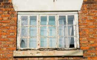 Деревянные окна реставрация своими руками