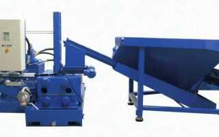 Прессы для брикетирования цветной и металлической стружки