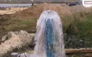 Как пробурить артезианскую скважину для воды