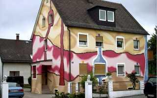 Покраска фасада дома — рекомендации, советы