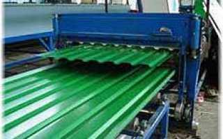 Производство профнастила: промышленная линия и ручной способ