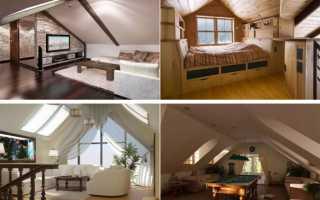 Проект мансардной крыши частного дома