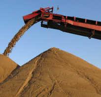 Карьерный песок и намывной — в чем отличие ?
